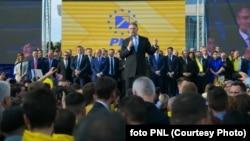 Klaus Iohannis printre foștii săi colegi din PNL, care-i fac și campania prezidențială de anul acesta