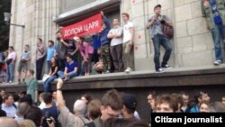 Акція у Москві на підтримку Навального