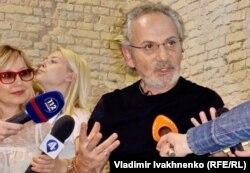 Савік Шустер на презентації своєї книжки