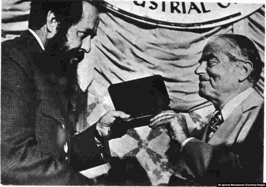 Александр Солженицын на Конгрессе американских профсоюзов