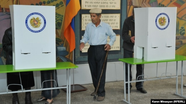 The Armenian government says allowing expatriates to vote is too costly.
