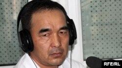 Қырғызстандық «Ақша мен билік» газетінің редакторы Турат Әкімов.
