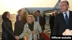 اما بونینو، وزیر امور خارجه ایتالیا در تهران