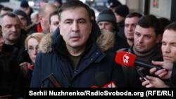 Михаил Саакашвили. Киев, 9-февраль, 2018-жыл.