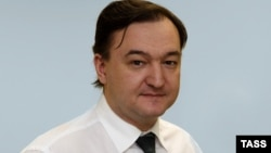 Российский юрист Сергей Магнитский, умерший в московском СИЗО.