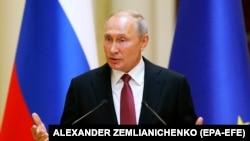 Președintele Federației Ruse Vladimir Putin
