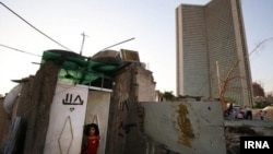 Shanty town near Tehran, Iran. Undated.