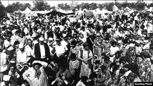 1989-cu ildə Ahısqa türklərinin ikinci deportasiyası başlandı. Özbəkistandan.