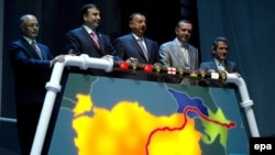 Turkey, Georgia, and Azerbaijan launching the BTC pipeline in July 2006