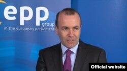 Манфред Вебер, лідер фракції Європейської народної партії, в Європарламенті з 2014 року