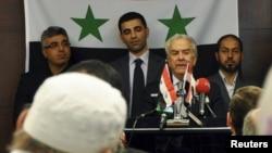 Членови на сириската опозиција во Истамбул на состанок