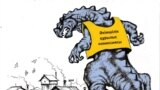 """<strong>""""Казахстанский Годзилла""""</strong><br /> <br /> В столице страны и в нескольких городах Казахстана практически весь год проходили протесты в связи с изъятием земель """"под государственные нужды"""" и сносом домов граждан."""