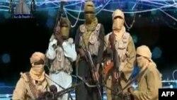 Припадници на исламистичката група Ансау
