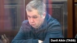 Экс-глава областного МЧС Александр Мамонтов в зале суда