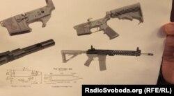 Схема гвинтівки М4