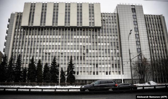 Главное здание ГосНИИОХТ в Москве