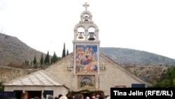 Sjedište eparhije u Mostaru