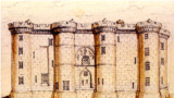 Бастилия, старинная гравюра
