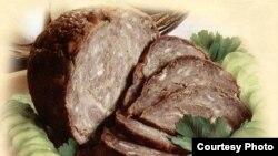 Шыртан - традиционное блюдо чувашской национальной кухни из баранины, очень подходит для праздничного стола. Фото с сайта recepteka.ru