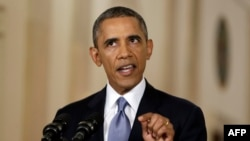 President Barack Obama says the United States will give a Russian proposal on Syria a chance to succeed.