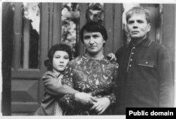 З дружиною і донькою