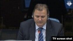 Svjedok Goran Dragojević u sudnici 14. svibnja