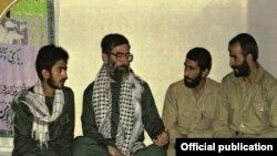 Iran -- Esmail Ghaani & Ali Khamenei