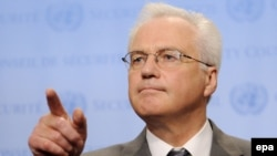 Vitaly Churkin, Russia's ambassador to the UN