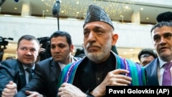 "Former Afghan President Hamid Karzai has described the talks as ""very satisfactory."""