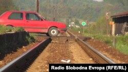 Железнодорожный переезд (иллюстративное фото)