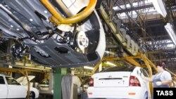 Российский автопром обеспечил примерно половину общего роста в машиностроении страны
