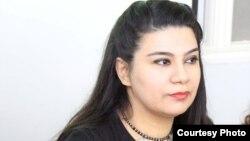 Azeri Author Sudaba Babazadeh.