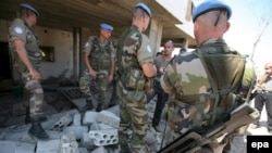 Французские легионеры в Ливане, август 2006 г.