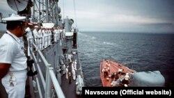 Американські кораблі в Севастополі: вперше в українському порту (фотогалерея)