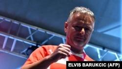 Marko Perković Thompson na koncertu u Livnu, arhivska fotografija