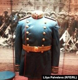 Китель Сталина на выставке в Историческом музее