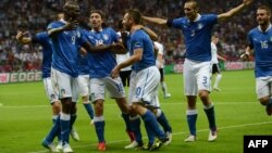 One of the games at issue involved Italy and its black striker, Mario Balotelli.