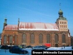 Католическая церковь Святой Бригитты в Гданьске