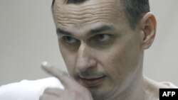 Oleh Sentsov at his sentencing in 2015