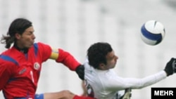 بازی دو تیم ایران و کاستاریکا بدون تماشاگر برگزار شد.