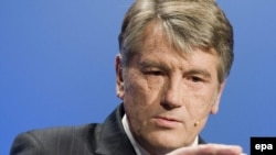 Ukrainian President Viktor Yushchenko (file photo)