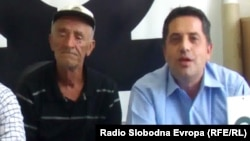 Јордан Настески од прилепското село Галичани и Влатко Ристески, претседател на невладината организација ОДРАЗ.