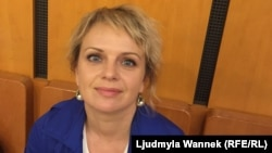 Ірма Вітовська в Празі, 15 червня 2018 року.