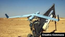 АҚШ-тың ұшқышсыз басқарылатын ScanEagle аппараты.