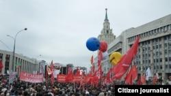 """Акция """"Марш миллионов"""" 15 сентября в Москве."""