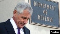 Американскиот секретар за одбрана Чак Хејгел.