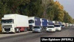 У кыргызско-казахской границы, 16 октября 2017 г.