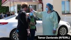 Термоскрининг граждан со стороны Зугдиди