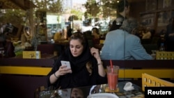 Some 40 million people are believed to use the Telegram app in Iran. (illustrative photo)
