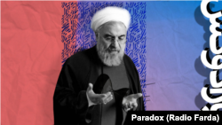 """A graphic of """"paradox"""" weekly radio show E125, hosted by Kambiz Hosseini, August 09, 2019."""
